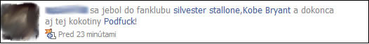 facebook, jebol, nadavky, slovensky preklad, slovencina, vulgarizmy