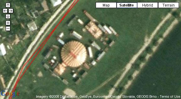 Google, Maps, Rare, Funny, Trencin, Cirkus,