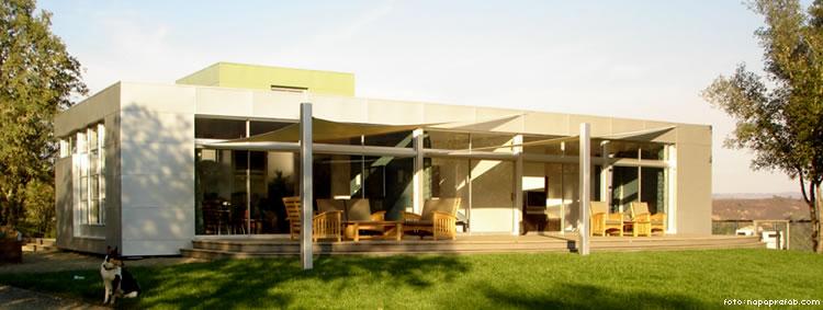 Napa, Prefab, House, California, Minimalistic, Rocio Romero